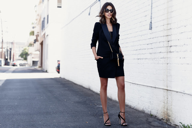 MINISTRY OF STYLE Tux dress