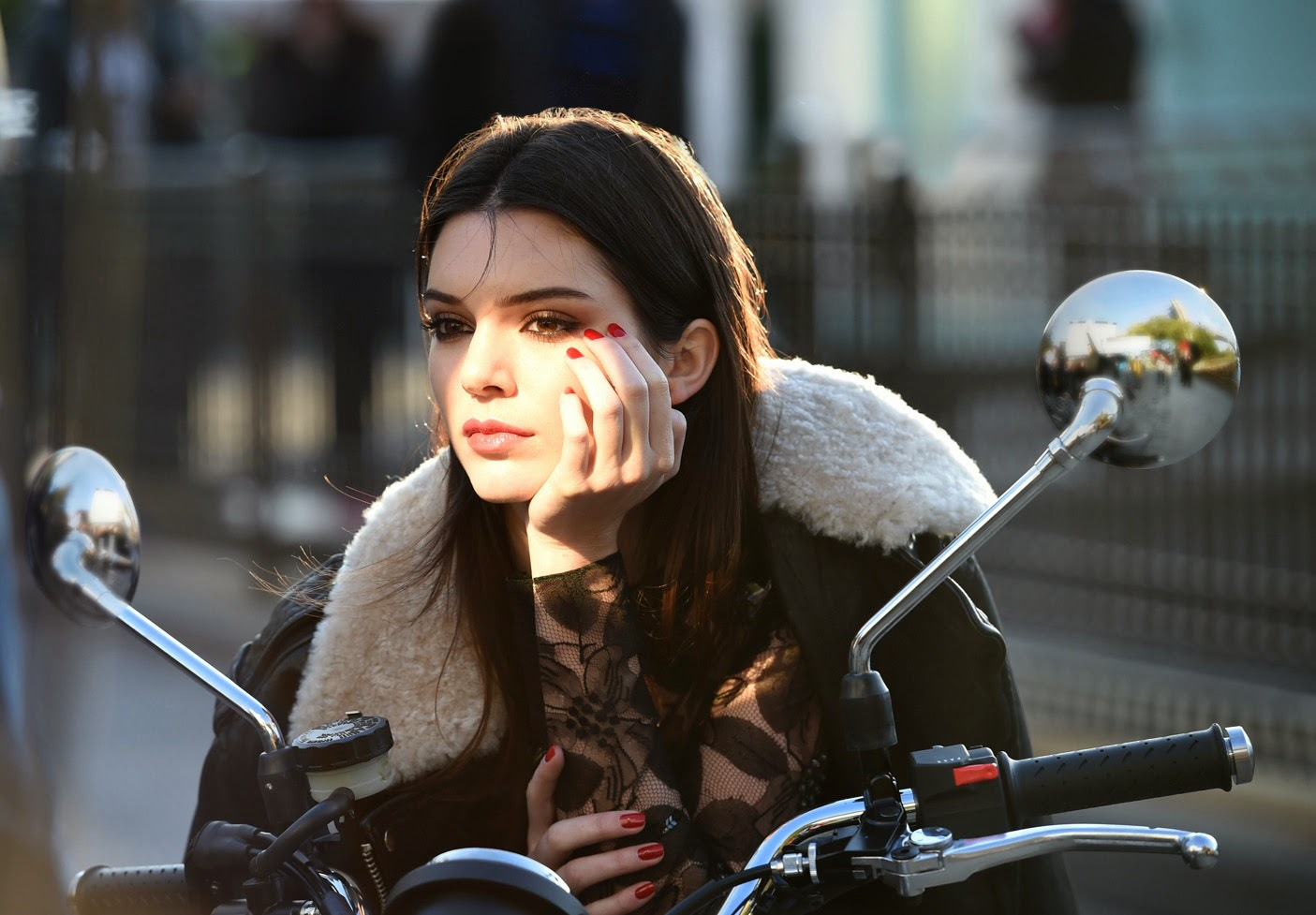 Kendall Jenner for Estee Lauder 2015