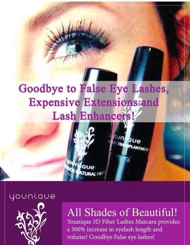 YOUnique 3D Fiber Lashes vs Eyelash Extensions. They look the same but one costs far less money and takes almost no time at all!