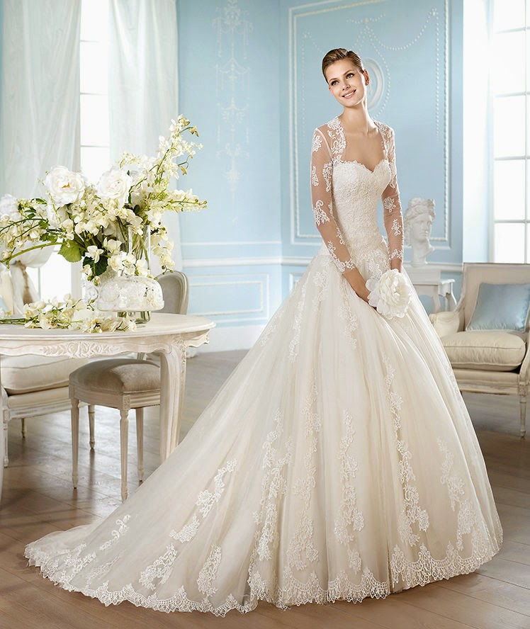 Amazing San Patrick Wedding Dress 2014 Bridal Collection 2014