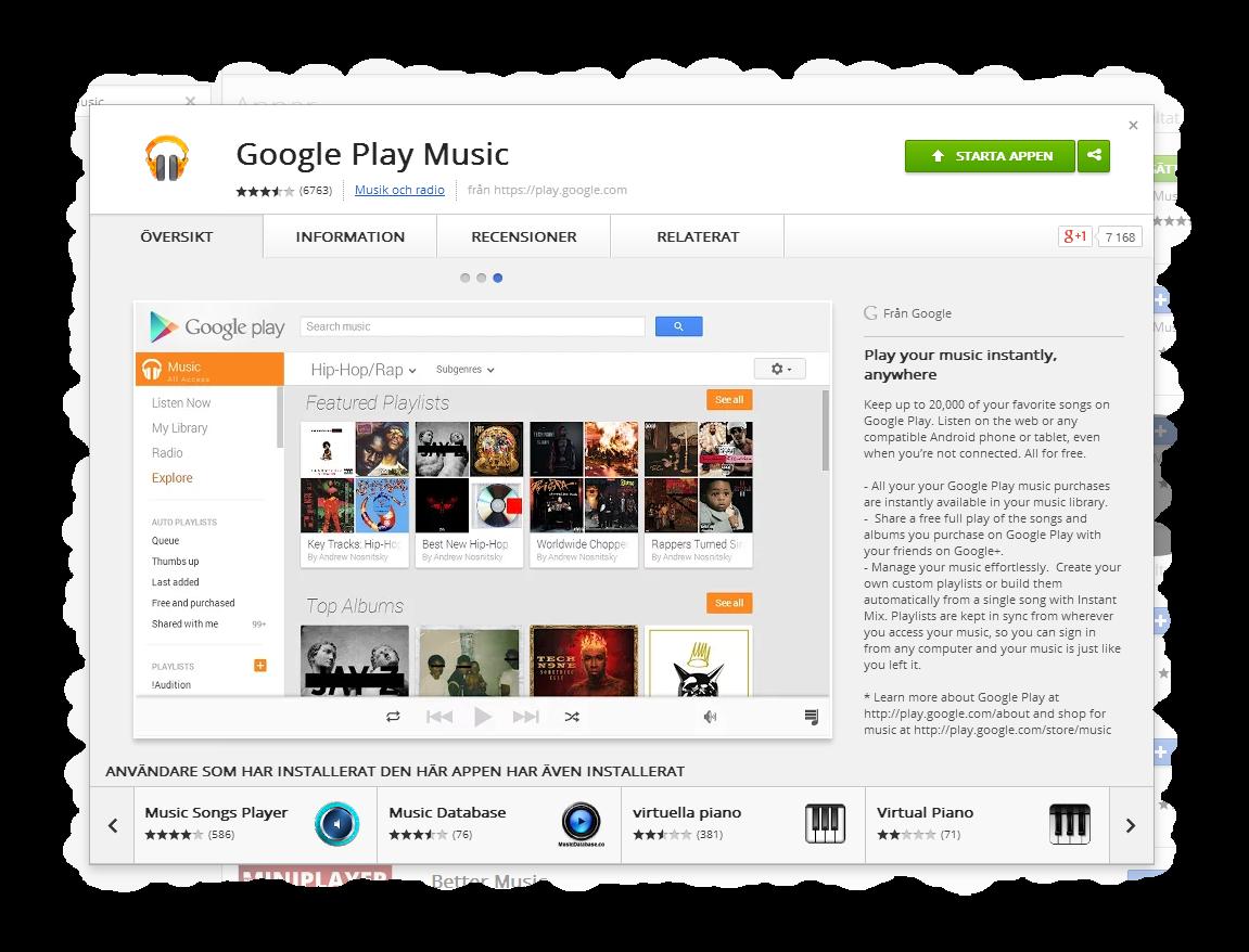 https://chrome.google.com/webstore/detail/google-play-music/icppfcnhkcmnfdhfhphakoifcfokfdhg/related?utm_source=chrome-ntp-icon