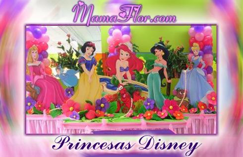 Tarjeta de Cumpleaños de las Princesas Disney listo para Imprimir ...