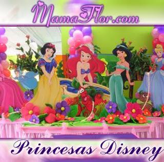 Tarjeta de Cumpleaños de las Princesas Disney listo para Imprimir