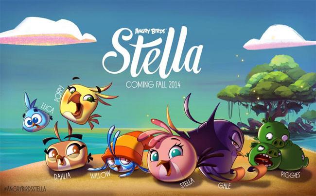 Angry Birds Stella llega el 4 de setiembre