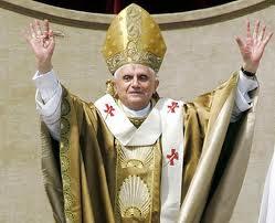 111-й римский папа Бенидикт 16-й