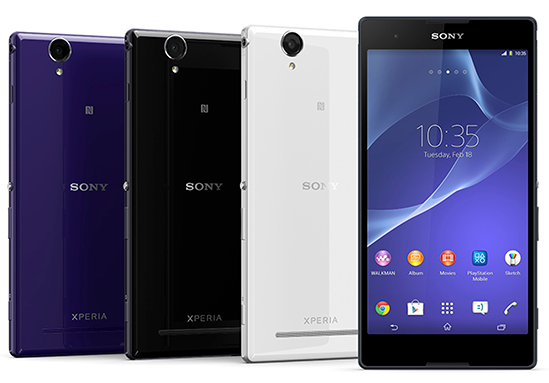 Sony Xperia T2 Ultra 6-Inch Phablet