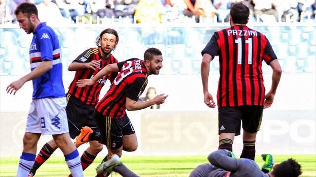 ميلان يفوز على سامبدوريا واليوفي يحسم ديربي تورينو والانتر يتعثر