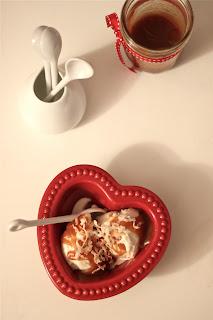 Coconut Caramel Sundae