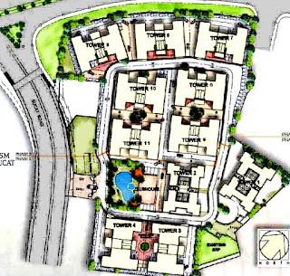 Avida Towers Sucat Site Development Map