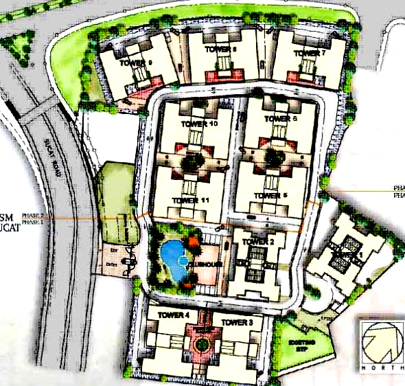 Avida Towers Sucat Site Development Map