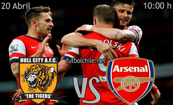 Hull City vs Arsenal - Premier League - 10:00 h - 20/04/2014