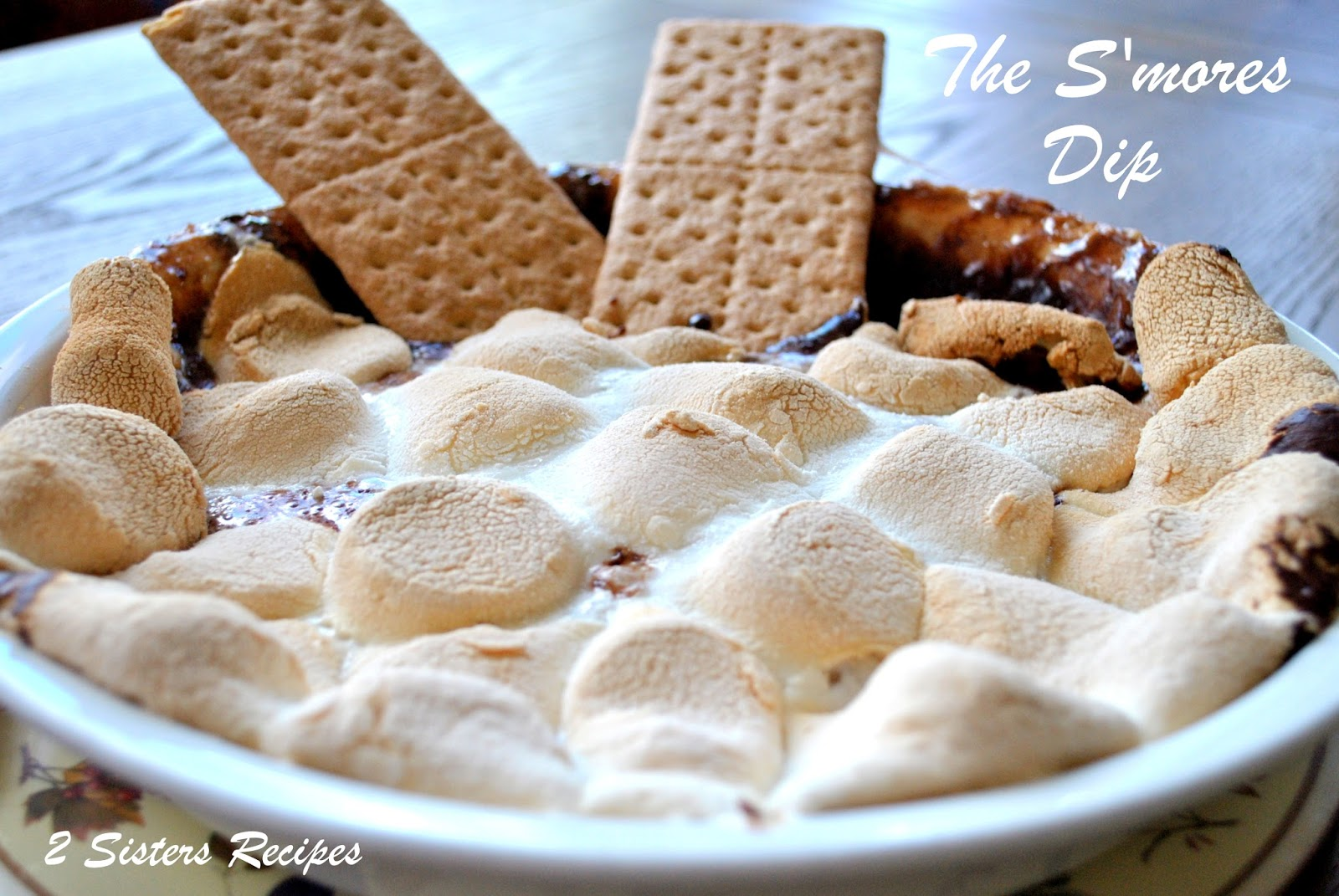 Sisters Recipes... by Anna and Liz: The S'mores Dip