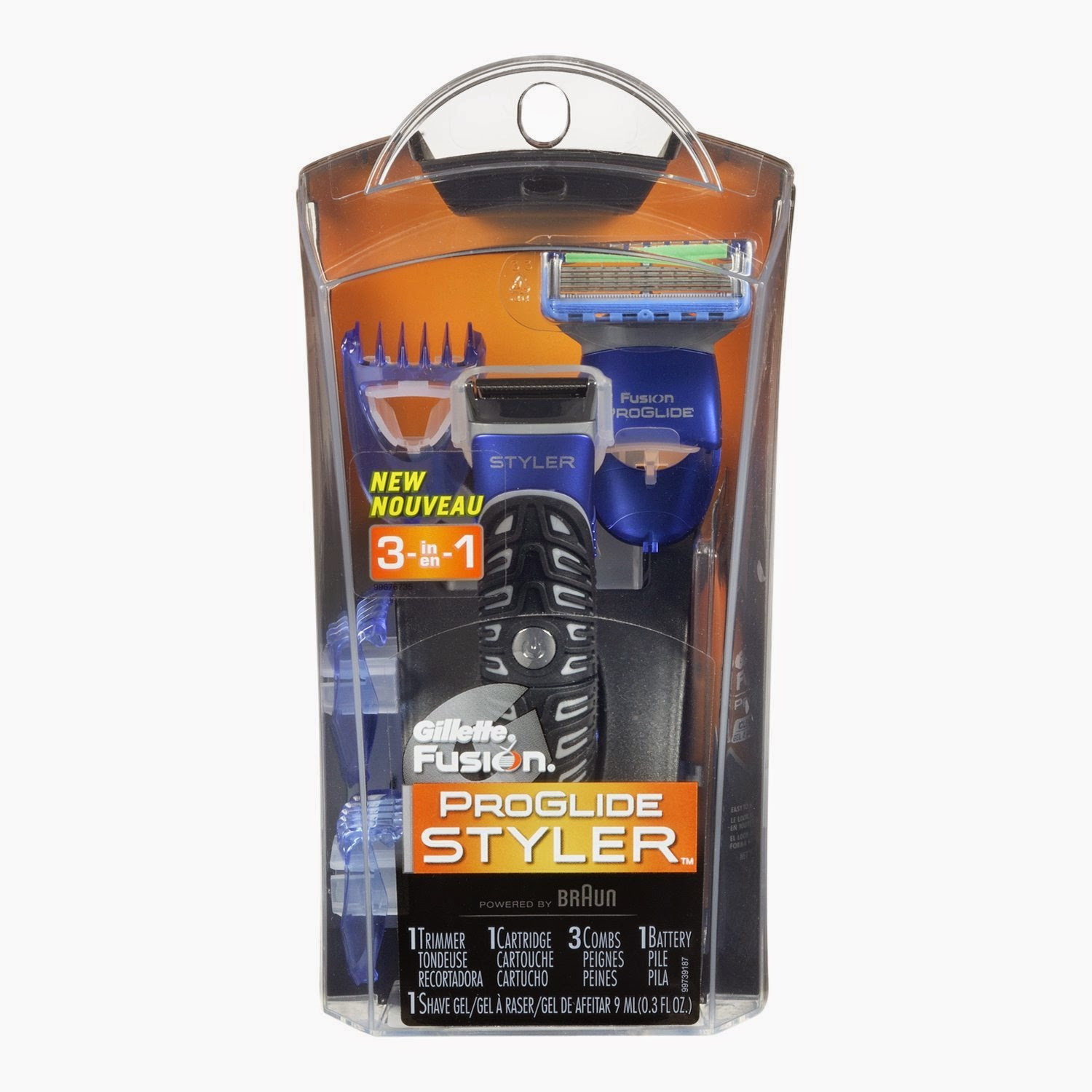 Amazon: Buy Gillette Fusion ProGlide Styler 3-in-1 Men's Body Groomer with Beard Trimmer at Rs.1099