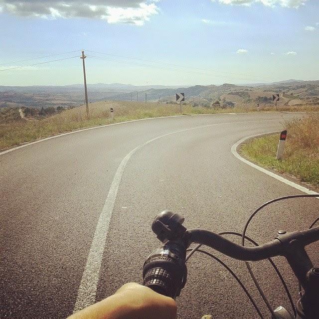 Cycling in Tuscany: Monticello - Cinigiano