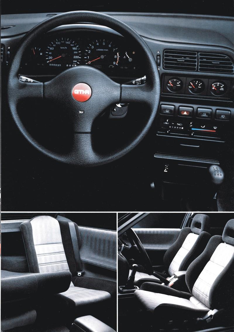 Nissan Pulsar Sunny GTi-R N14 日産 日本車 ホットハッチ スポーツカー wnętrze, interior