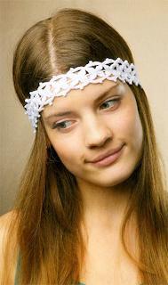 Ажурная повязка для волос: методика и схема вязания крючком