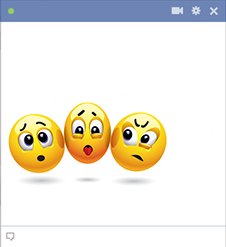 Squeezing In Emoticons