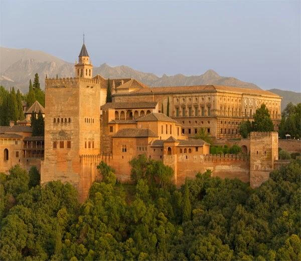 4-अल्हाम्ब्रा, ग्रेनाडा, स्पेन (Alhambra Granada, Spain)