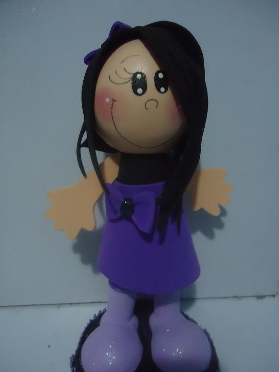boneca fofucha emo