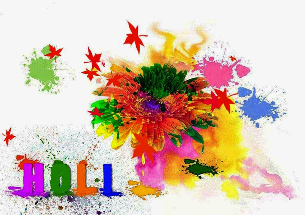 Colourful Holi HD Wallpapers Free Download