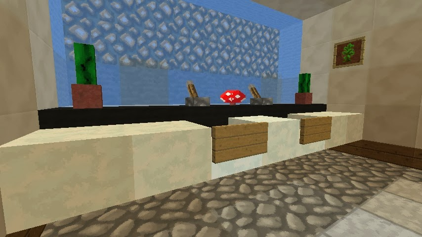 how to make an awesome awesome bath in minecraft