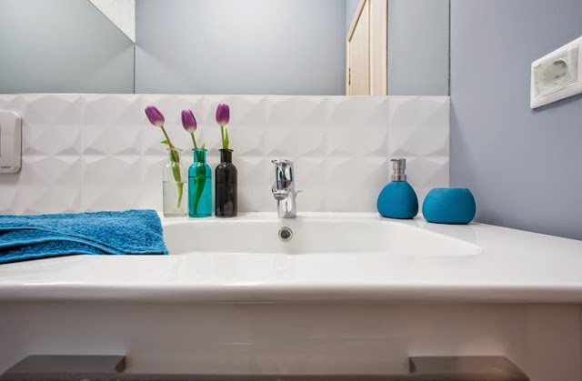 pequeno apartamento decorado, idéias para decor pequenos espaços, blog de decoração, blog Achados de Decoração