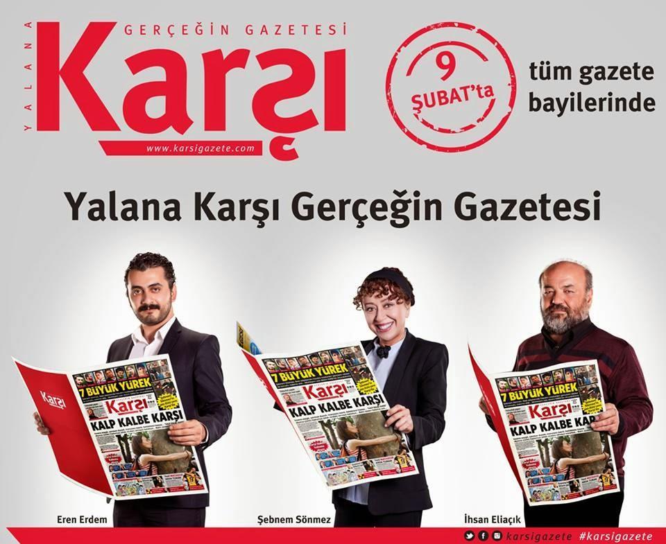 Karşı Gazetesi Yayına Başladı - Medyanoz