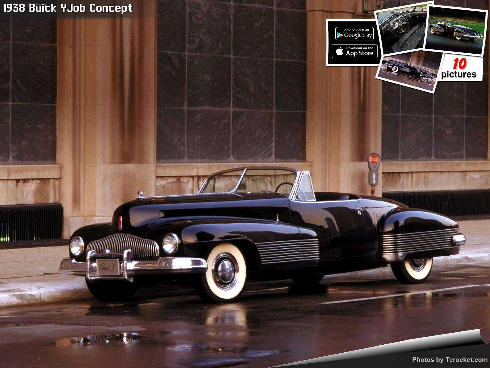 Hình ảnh xe ô tô Buick YJob Concept 1938 & nội ngoại thất