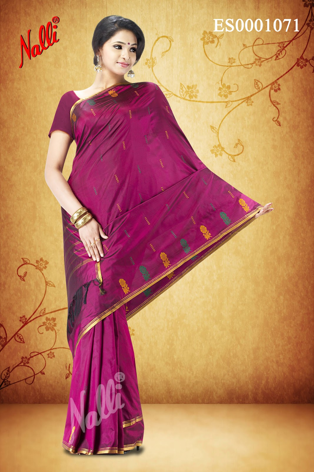 Nalli Silks Diwali Collections