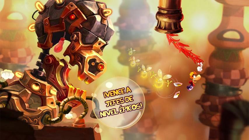 Rayman Fiesta Run para Android e iOS, una nueva aventura de Rayman ahora también en móviles