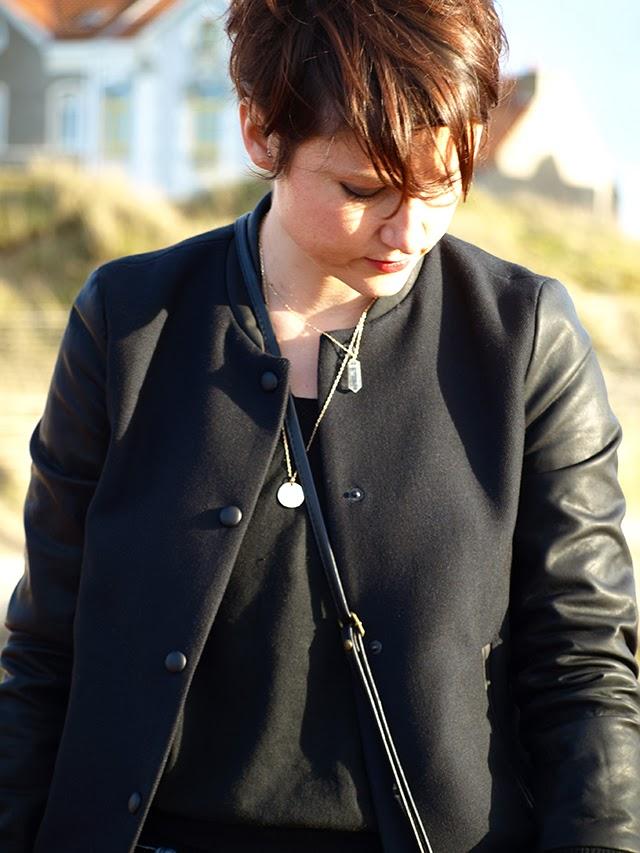 cristal, teddy, zara, pochette noire, blog mode lille, fashion blogger