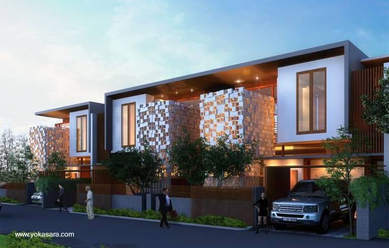 Arquitectura de casas proyecto de casas d plex for Casas modernas renders