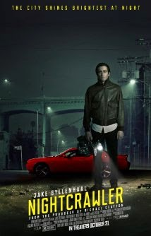 nightcrawler (2014) crime movie poster