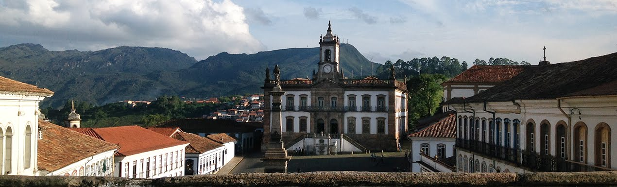 Vista parcial de Ouro Preto