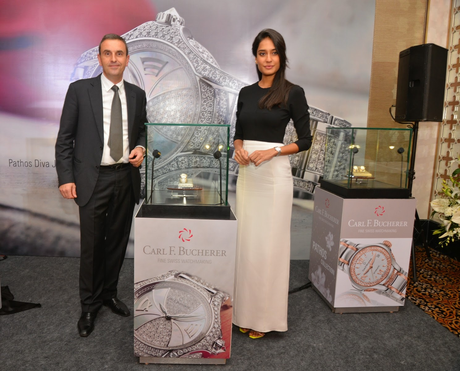 Pictures of Pathos Watches Launch With Lisa Haydon and Mr. Jerome Riff