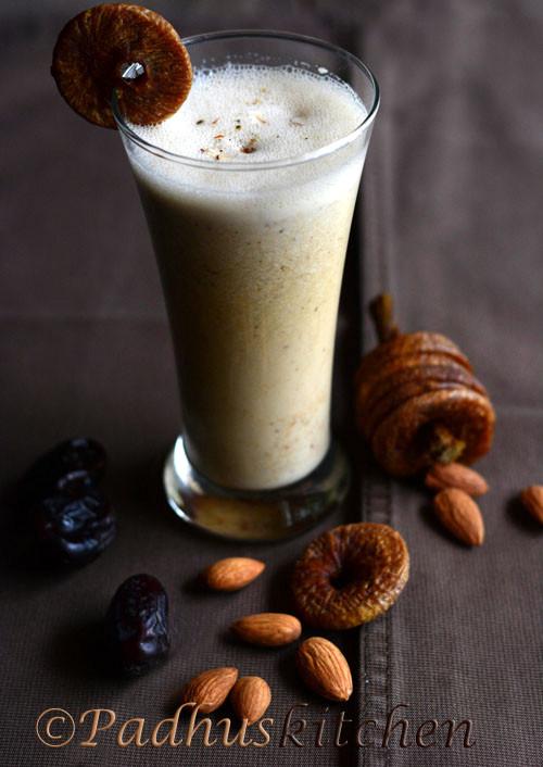 Dry Fruits Milk Shake