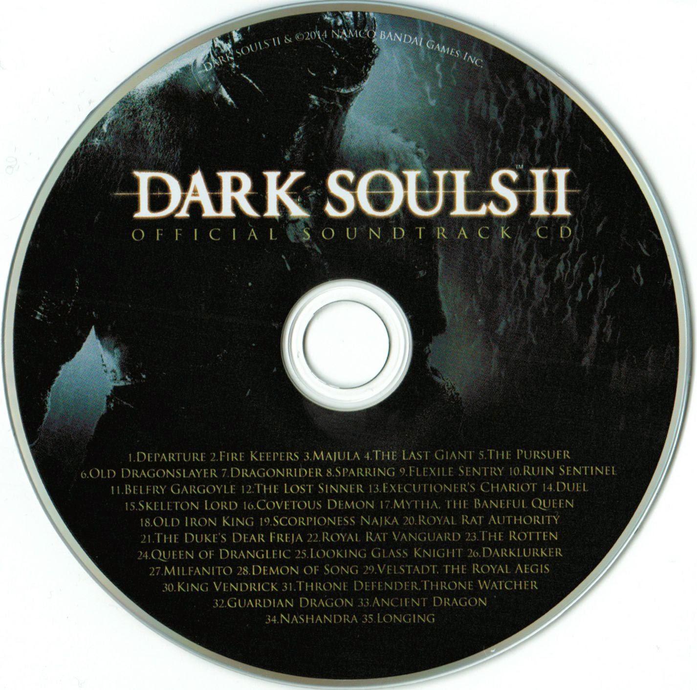 Label Dark Souls II Official Soundtrack CD