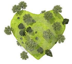 corazón planeta