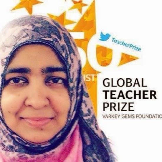 Wow Cikgu Yasmin Tersenarai 50 Guru Terbaik Di Dunia 4 Gambar