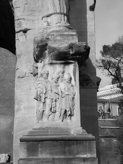 Arco Septimio Severo Roma detalle