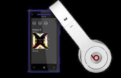 HTC Beats Audio Headphones