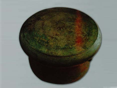Chinese Bronze Drum