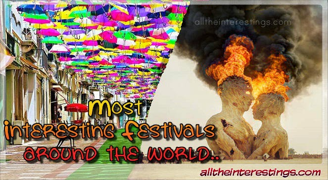 Most Interesting Festivals around the world
