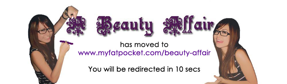 A Beauty Affair - A Singapore Beauty & Lifestyle Blog!  Beauty Reviews & More In Here!