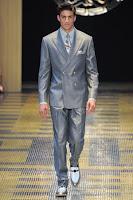 мъжки костюм метално светлосиво