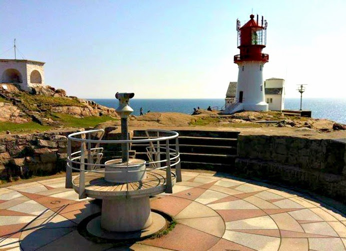 Lindesnes Lighthouse, Southern Norway (Photo TMG)