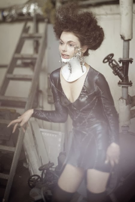 Katarzyna Konieczka clothes costumes design fashion fetish dark gothic