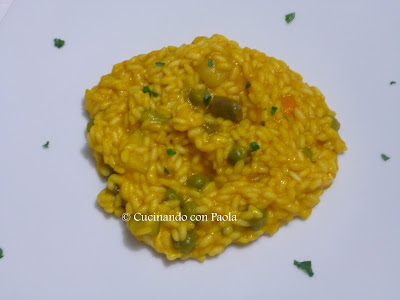 risotto cremoso alle verdure