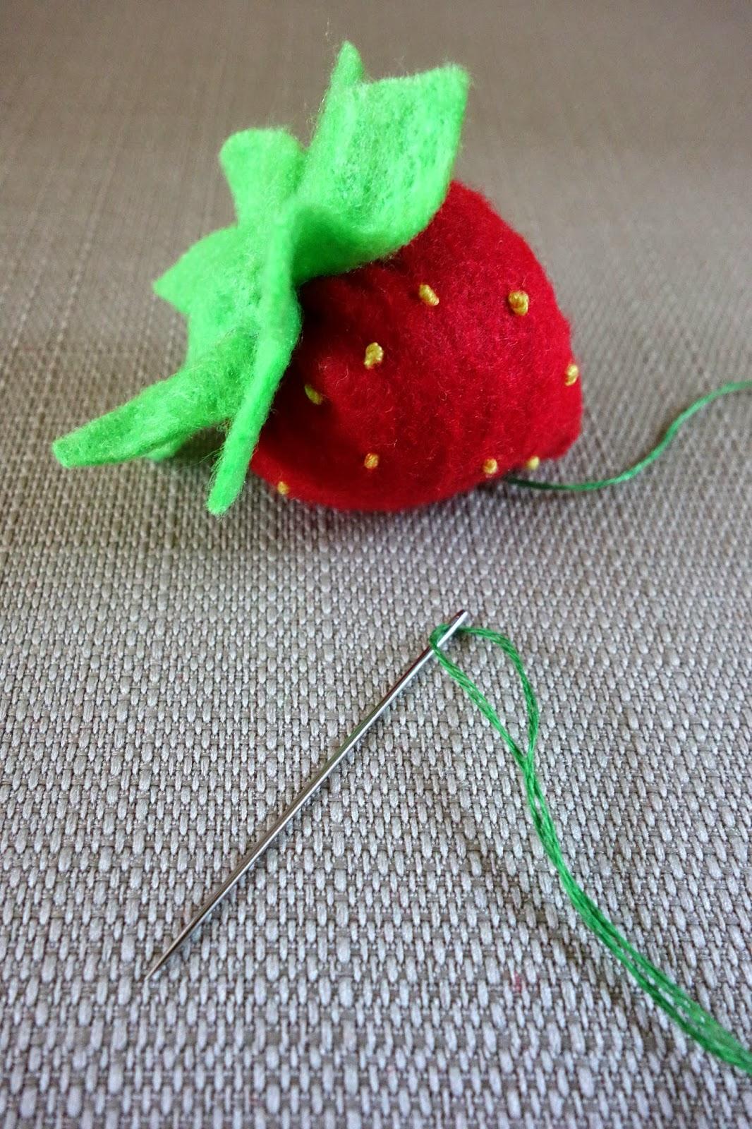 strawberry needles - photo #26