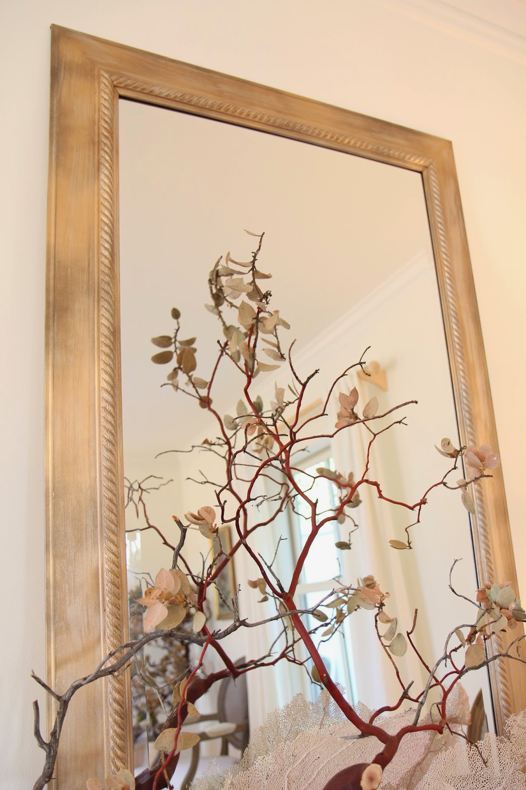 Mirror for a Wedding Reception; Transform a Frame from New to Antique; Nora's Nest